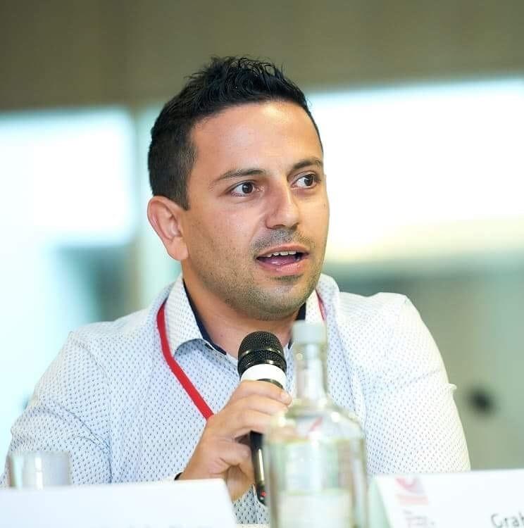 UPE executive head Graham Sansone
