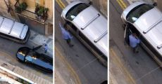 WATCH: Maltese Cab Driver Has Racist Meltdown After Foreign Driver Parks Badly In Narrow Valletta Road