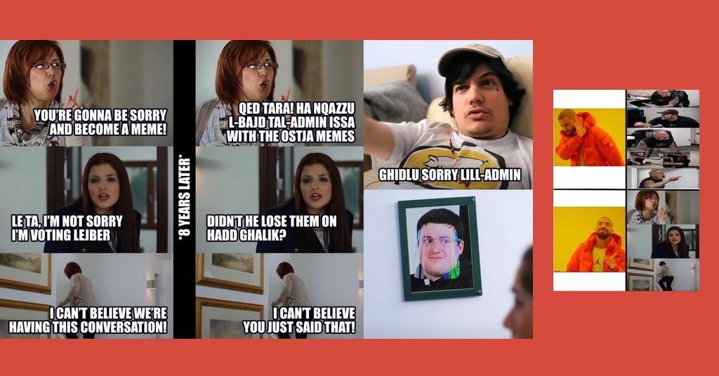 Memes by F. Rizzo and J. Zammit