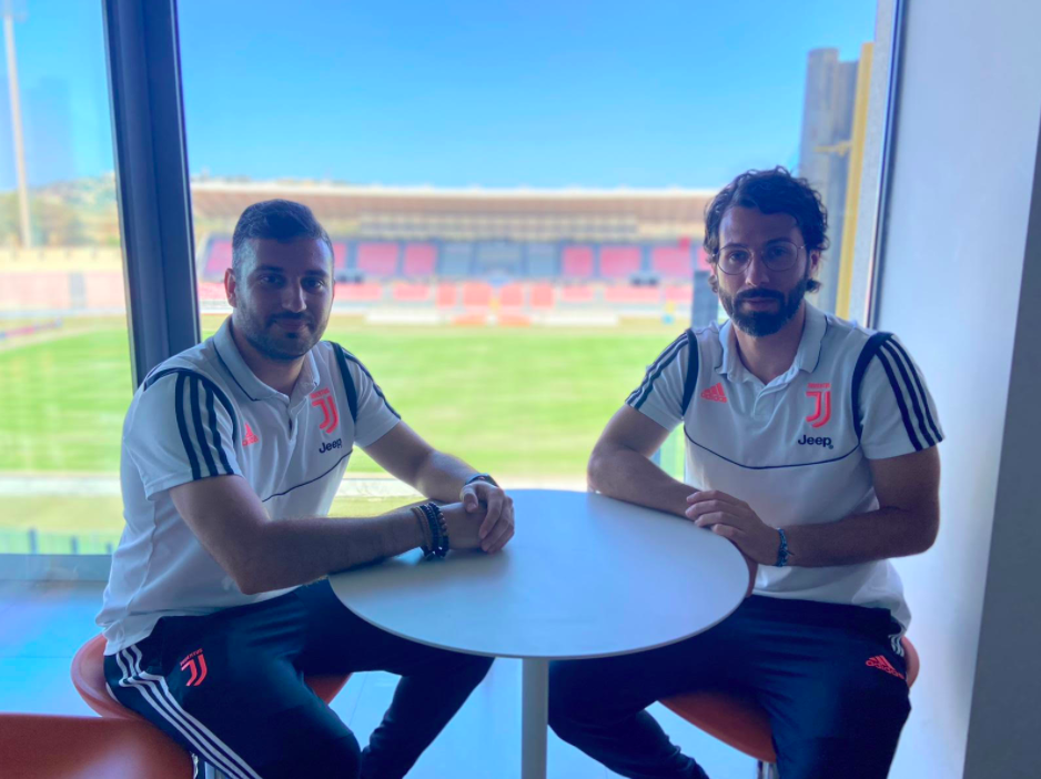 Matteo Barresi and Alessio Capraro on their visit to Malta earlier this week